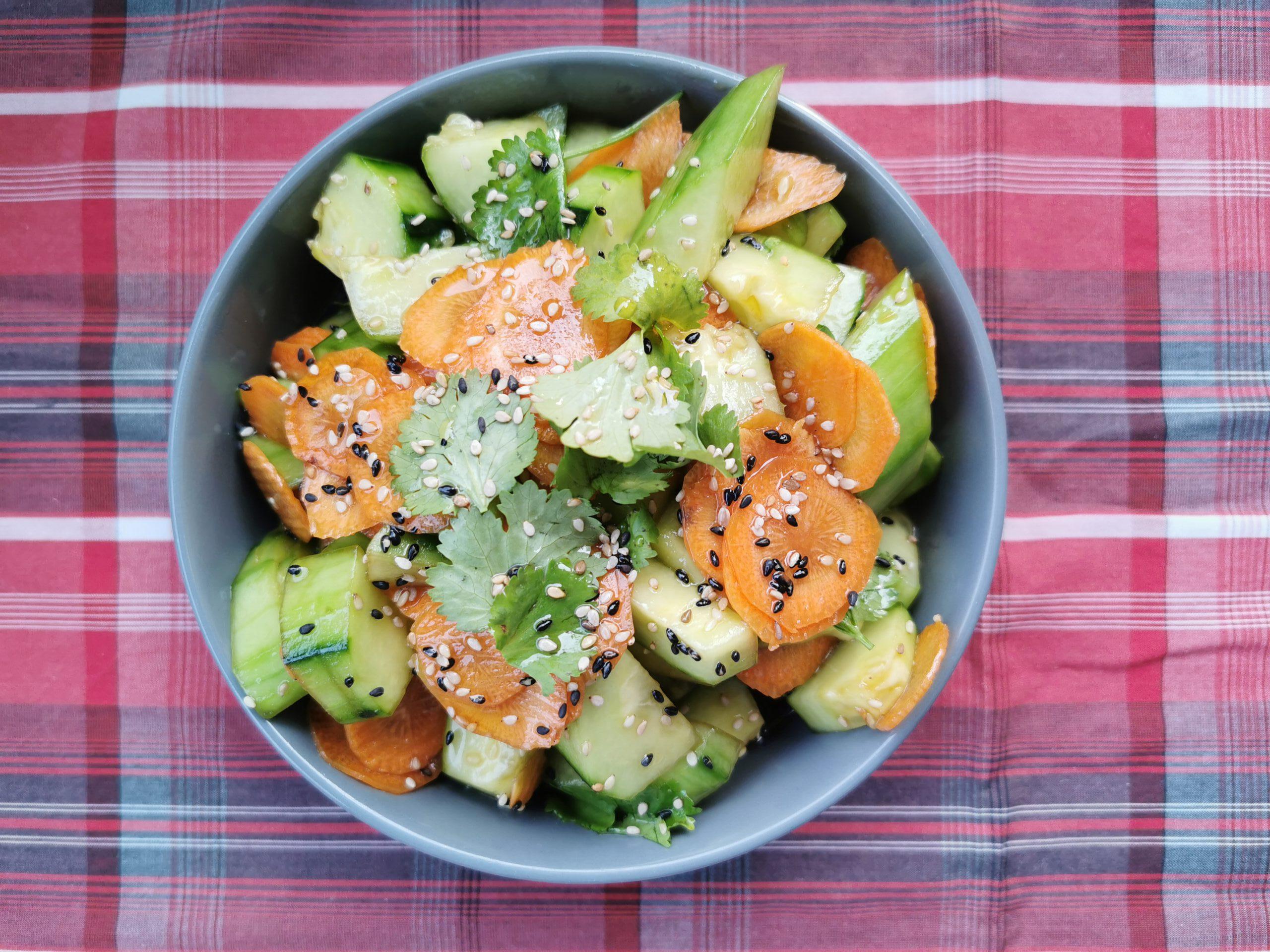 Koreanischer Gurkensalat