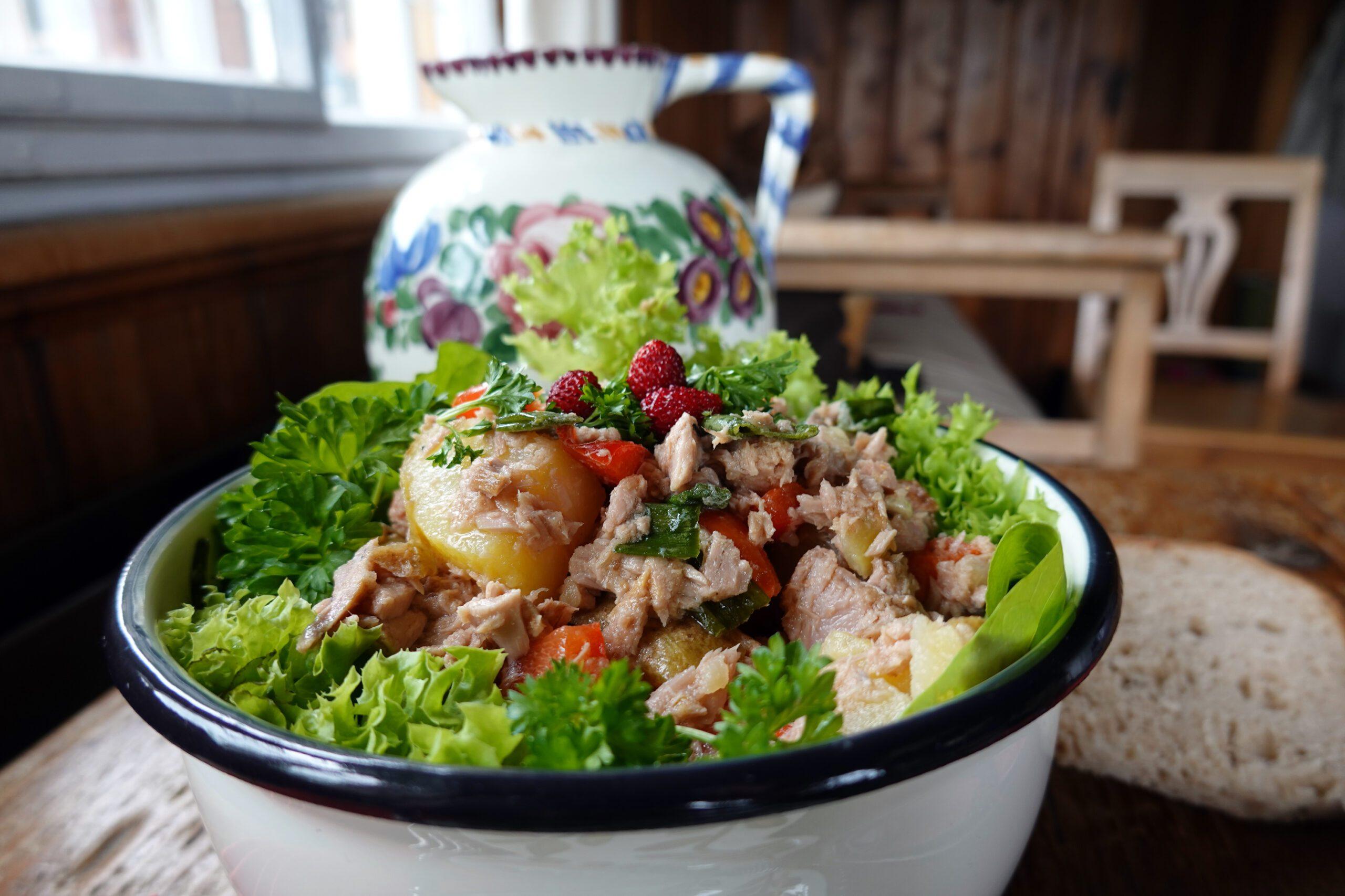 Kartoffelsalat mit Pfiff
