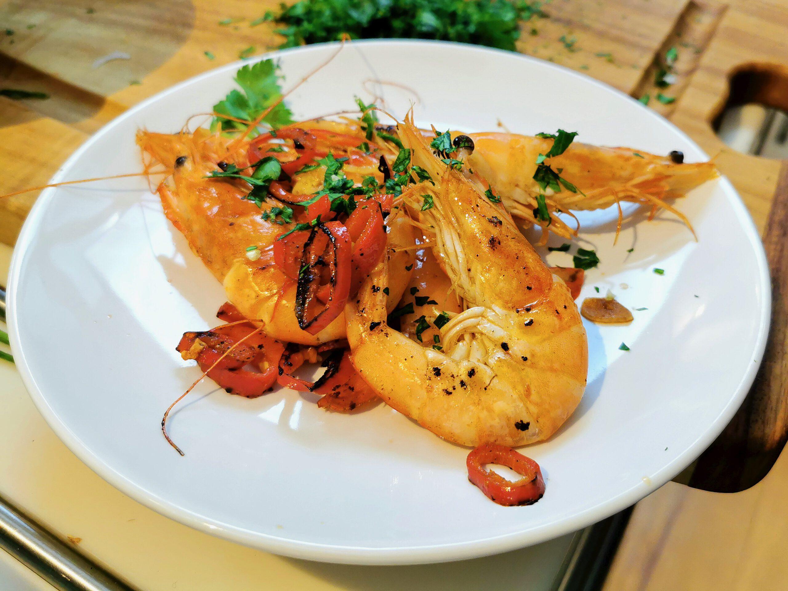 Easy spicy Shrimps